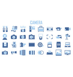 camera photography action camera logo camera vector image