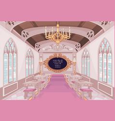 castle classroom vector image