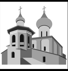 church vector image