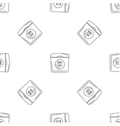 dental floss pattern seamless vector image