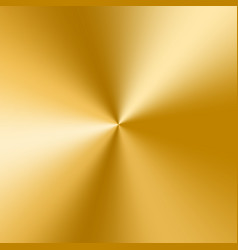 golden cone gradient vector image