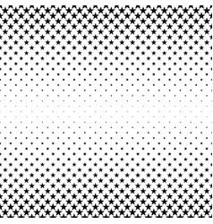 Monochromatic star pattern - background vector