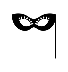 Party mask isolated icon vector