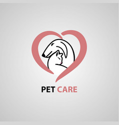 pet care vet clinic vector image