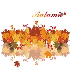 Sweet Autumn background vector