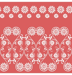 swirling decorative floral elements ornament vector image