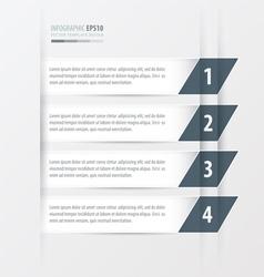 Tilted squares Modern infographics banner white vector
