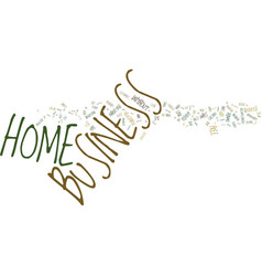 You can advertise your home business free text vector