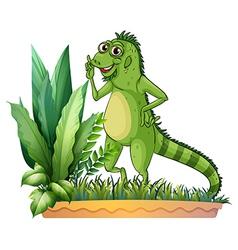 A big reptile vector