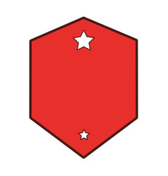 Elegant badge seal icon vector