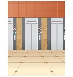 Elevator floor vector