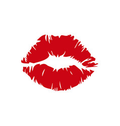 female red lips images vector image