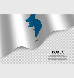 Flag korea vector