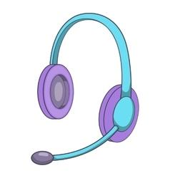 Headset icon isometris style vector