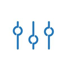 Refine icon vector