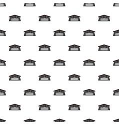 Barn pattern simple style vector