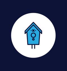 bird house icon sign symbol vector image