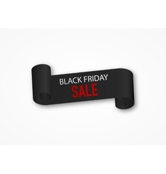 Black Friday discounts vector image