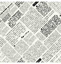 Imitation of nespaper with diagonal text vector