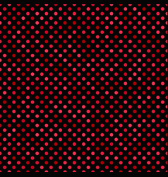 red seamless dot pattern background - design vector image
