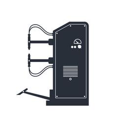 Spot welding machine icon industrial point vector