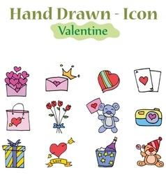 Valentine day element vector
