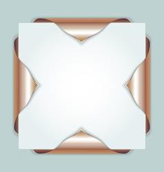 Bronze bookmarks vector image