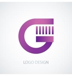 logo letter g vector image vector image