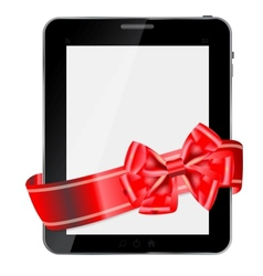 Abstract design Tablet vector image