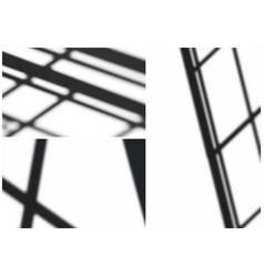 abstract soft shadows set vector image