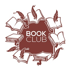 Book club vector