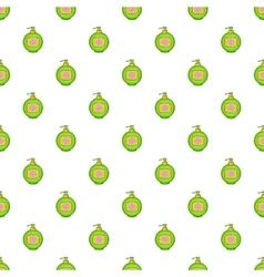 Bottle of cream pattern cartoon style vector