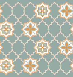eclectic combined style seamless pattern vector image