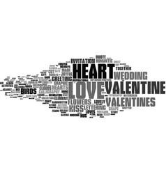 Love word cloud concept vector