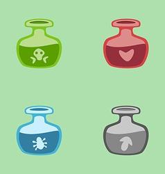 magic potions vector image