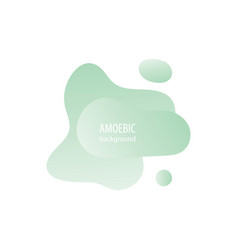 Motion amoeba fluid abstract background paper cut vector