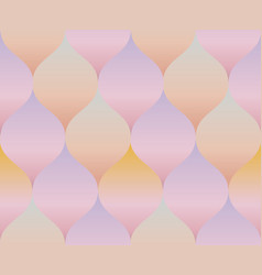 Pale rose color gradient concept geometry pattern vector