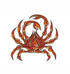 Spider crab vector