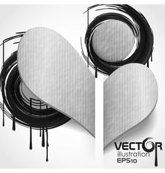 Creative Modern Abstract Background vector image vector image