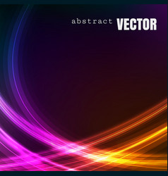abstract square background with shiny lines vector image