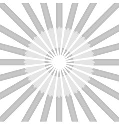 Circle from gray pencils vector