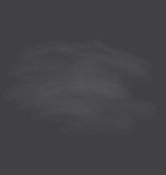 empty chalkboard with faded chalk for background vector image