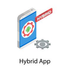 Hybrid app vector