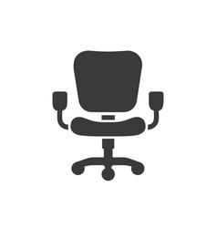office chairs icon images vector image