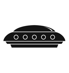ufo icon simple style vector image