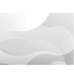 white and gray color wave texture abstract vector image