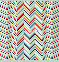 Zigzag jagged pattern on bright background vector