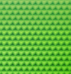 Abstract green geometric shape background made vector image