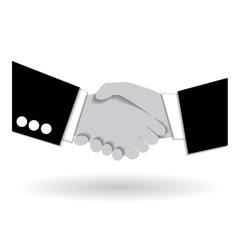 Agreement handshake business concept vector