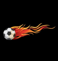 Ball fire vector